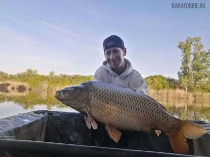 Gudmann József - Ponty  15 kg - 2021. 05. 15 - Túrtő